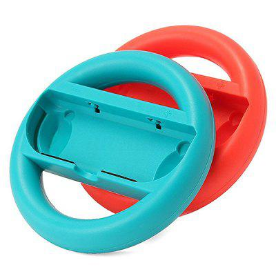 Game Left And Right Handle Steering Wheel for Nintendo Joy-Con 1 Pair