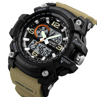 Skmei 1283 Heren Outdoor Waterproof Multifunctioneel Elektronisch horloge