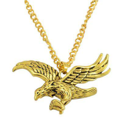 Simple Fashion Trend Persönlichkeit Flying Eagle Necklace