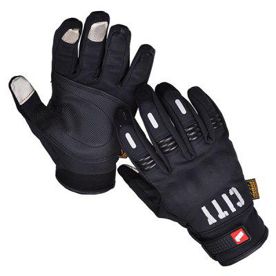 HYZ993 Motorcycle Outdoor Riding Off-road Racing Finger Touch Screen Gloves