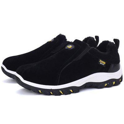 Men's Warm Sports Shoes Outdoor Hiking