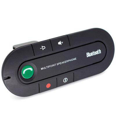 Car Bluetooth Handsfree Kit Sun Visor FM Transmitter MP3 Player