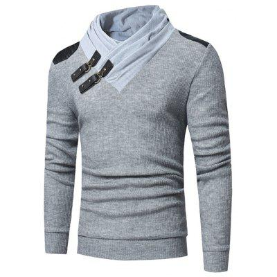 Slim Long Sleeve Leisure Men Comfortable Sweater