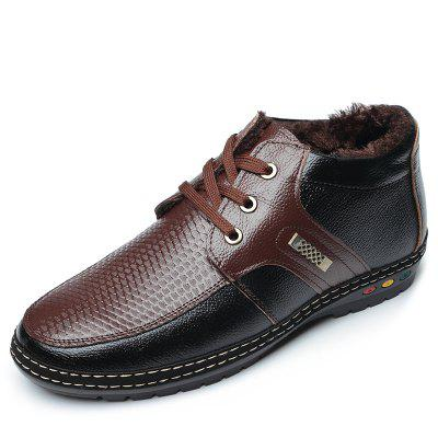 Moda Masculina Oxford Sapatos Casuais Low-help