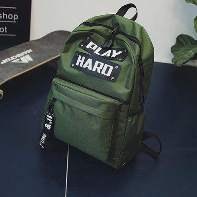 Version Harbin Port Wind Ulzzang Medium High School Students Soft Girl Backpack Crash Personality Trend Shoulder Bag