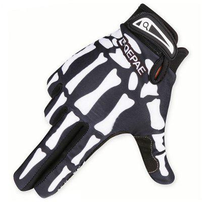 Winter Motorcycle Riding Gloves Shockproof Knitting Bicycle Hands Warming Set