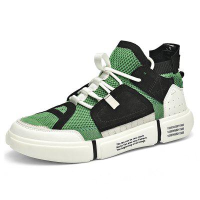 CENTURY COOL CITES Homens Malha Respirável Sports Casual Shoes