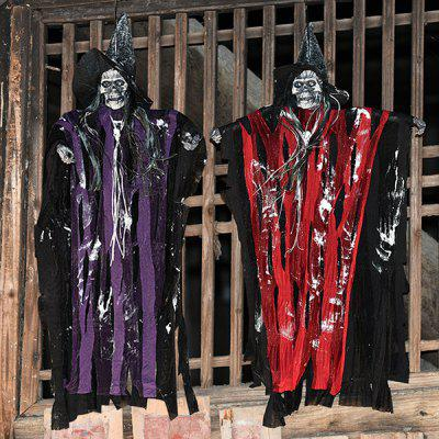 384 Halloween Horror Props Haunted House Decoration Electric Toys Sounds Sounds Controls Ghosts