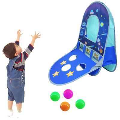 Children Tent Starry Version Outdoor Indoor Puzzle Shooting Tent Folding Parent-child Game Toy House