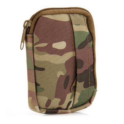 Double Layer Casual Coin Purse Mini Bag for Outdoor Sports