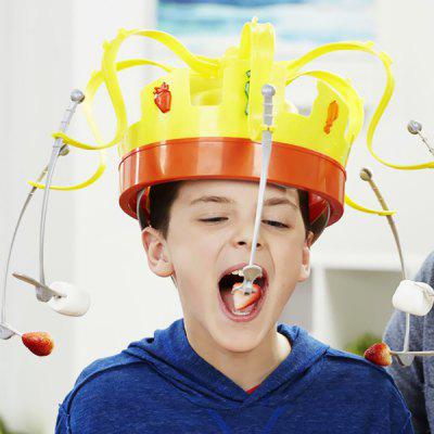 Crown Food Hat Funny Party Game Toy
