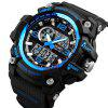 Skmei 1283 Heren Outdoor Waterproof Multifunctioneel Elektronisch horloge - BLAUW