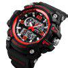 Skmei 1283 Men's Outdoor Waterproof Multi-function Electronic Watch - BLACK