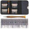 25 In One Combination Screwdriver Batch Bag Style Set Mobile Phone Notebook Glasses Repair Teardown Tool Set - SILVER