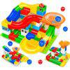 DIY Variety Building Blocks Rattapalli labürindis Slide õigekiri Educational Mänguasjad 52pcs - MULTI