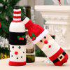 Creative Christmas Decoration Wine Bottle Cover - MULTI
