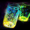 Luminous Particle Fluorescent Sand For Home Decoration / Party - YELLOW