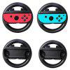 Game Left And Right Handle Steering Wheel for Nintendo Joy-Con 1 Pair - BLACK