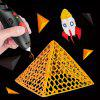 3D Puzzle DIY Low Temperature Painting Pen with USB Charging - BLACK