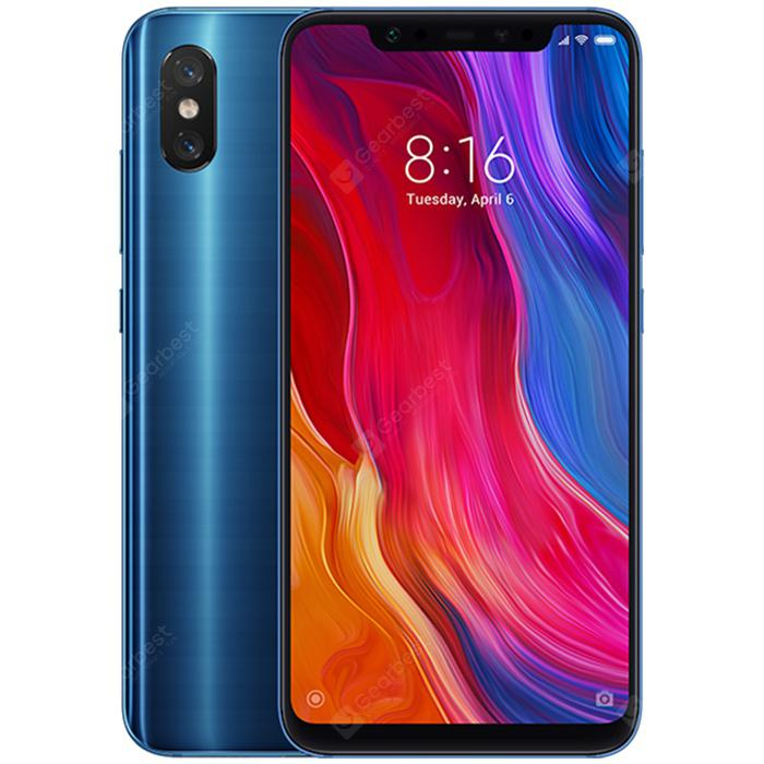 Xiaomi Mi 8 6.21 inch 4G Phablet Global Version - BLUE 6+128GB