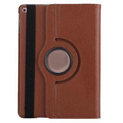 Rotating Lychee Case for iPad 9.7 Inch