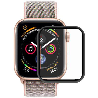 Hat-Prince 3D Full Screen Plating PET Curve Hot Bend HD Screen Protector for Apple Watch Series 4 40mm