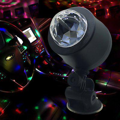 Cool Ambient Light DJ Decorazioni colorate scintillanti Ambient Light 6 Light Car Decorative Light