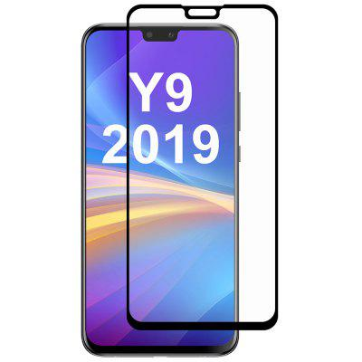 Straw Hat Prince Full Rubber 0.26mm 9H 2.5D Full Screen Tempered Glass Protector for Huawei Y9 2019 / Enjoy 9 Plus