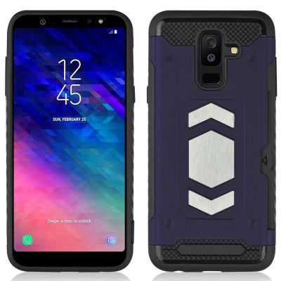 Angibabe Ultra-thin Car Case Cover for Samsung Galaxy A6 Plus ( 2018 )