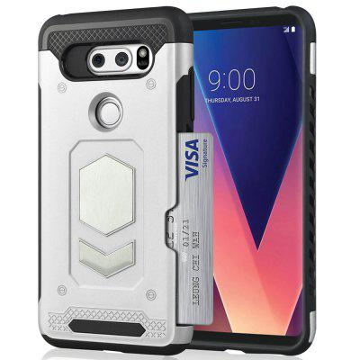 Angibabe Ultradunne Car Phone Case Cover voor LG V30