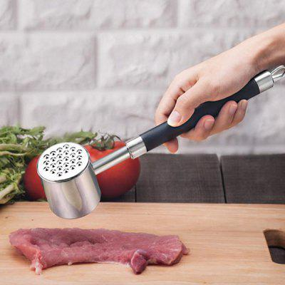 Stainless Steel Double-sided Meat Pounder Mincer