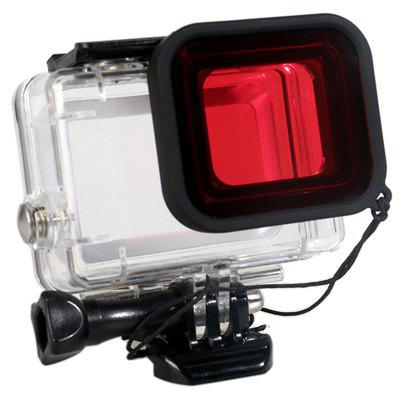 Red Filter for GoPro HERO5 / 6 / 7 / 2018 Action Camera