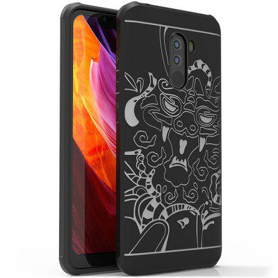 LuanKe Self-contained Line Protector for Xiaomi Pocophone F1
