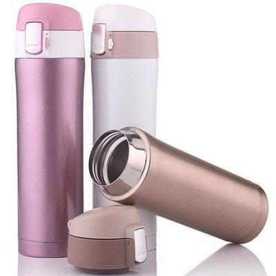 Bounce Cover Colourful Portable Stainless Steel Vacuum Water Cup Travel Mug Thermos Bottle