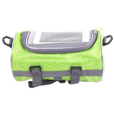 Bicycle Mountain Bike Saddle Upper Tube Front Beam Riding Equipment Accessories Mobile Phone Bag