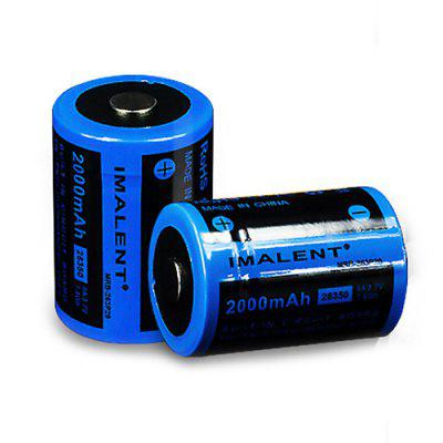 IMALENT 1 Pic Imalent MRB - 263P20 2000mAh High Discharge Performance 26350 Li-ion Rechargeable Battery