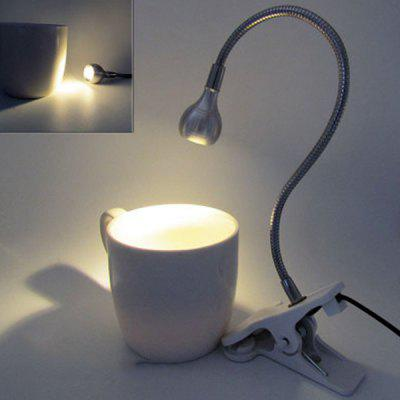 LED Learning Eye Protection Reading Table Lamp Hose Clip Light
