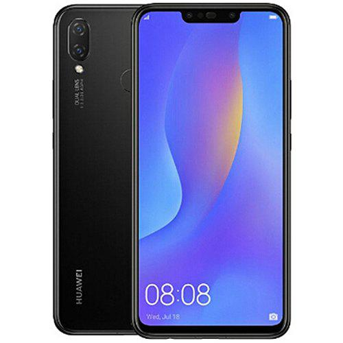 Gearbest HUAWEI nova 3i 4G Phablet Global Version - BLACK 4GB RAM 128GB ROM 16.0MP + 2.0MP Rear Camera Fingerprint Sensor