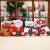 Santa Cutlery Set Table Decoration - RED