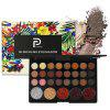 POPFEEL 29 Color Eyeshadow Eye Shadow Brush Set - MULTI-A