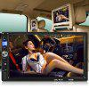 gocomma 7035B 7 inch Touch Screen Car Audio Stereo MP5 Player - BLACK