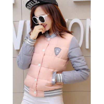 Women's Baseball Jacket Cotton Suit Warm