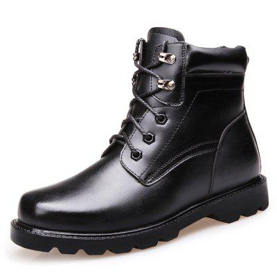 Simple Men's Shoes Military Boots