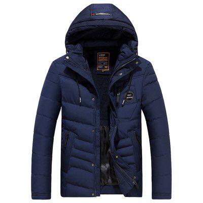 Winter Parka Men's Long Winter Coat