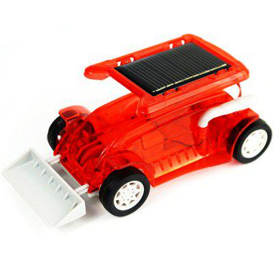 Solar Bulldozer Engineering Science Puzzle Assembly Toy