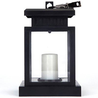 Outdoor Solar LED Candle Light Upgrade Edition Umbrella Table Lamp
