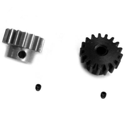 17T 0.8 Module Steel Metal Motor Pinion Gear