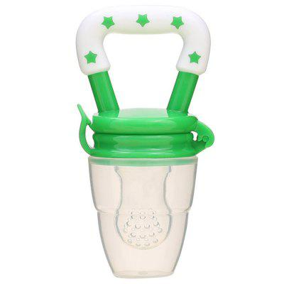 Baby Fruit And Vegetable Rubber Pacifier Bite Bag Baby Food Supplement Feeding Device