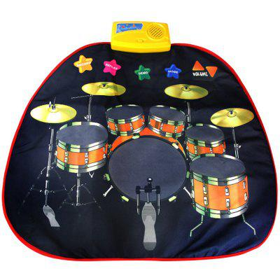 Kinder Jazz Drum Music Blanket Toy
