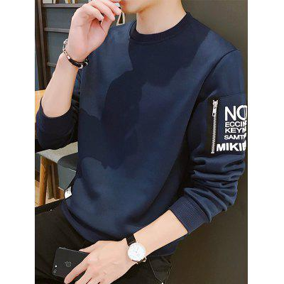 Long Sleeve T-shirt Round Neck Shirt
